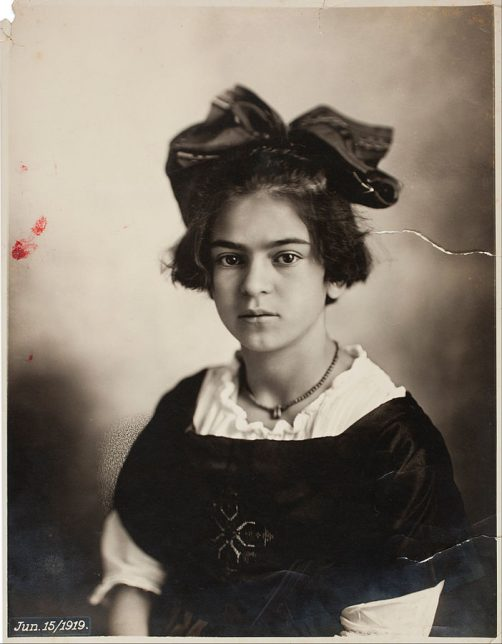 Photograph by Guillermo Kahlo of Frida Kahlo child, 1919