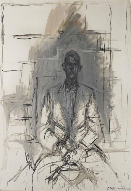 Alberto Giacometti, James Lord, 1964