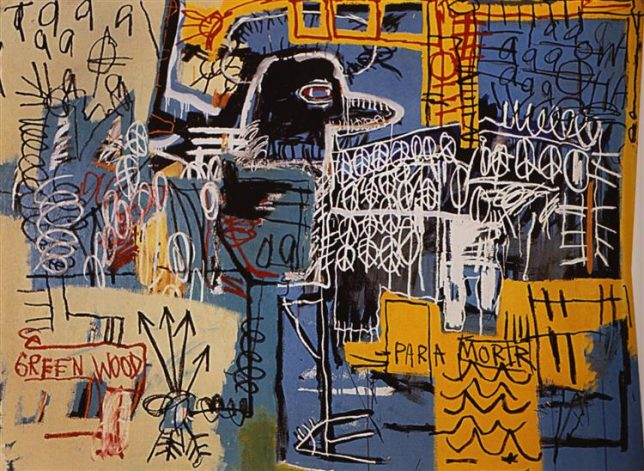 Jean-Michel Basquiat, Bird on Money, 1981