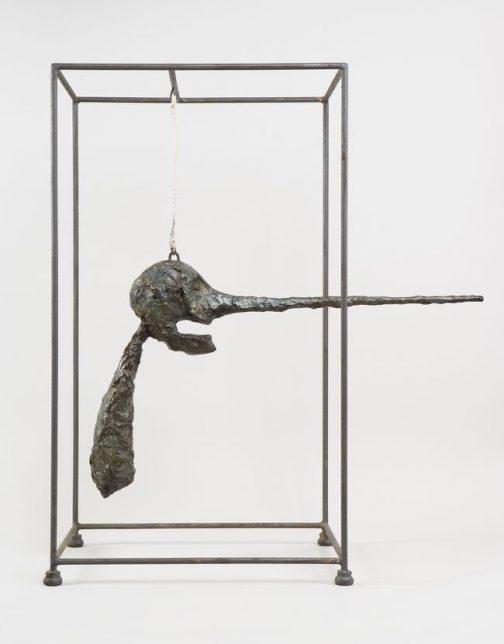 Alberto Giacometti, Le Nez, 1947 (version 1949)
