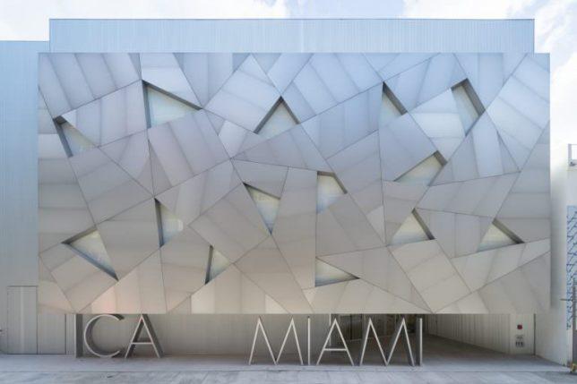 Façade de l'Institute of Contemporary Art de Miami