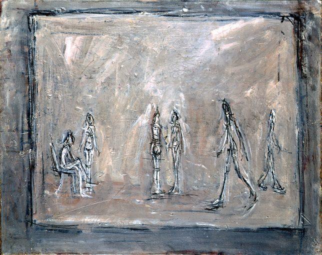 Alberto Giacometti, Au sphinx, 1950