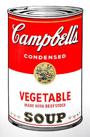 Andy Warhol, Campbells Soup Vegetable