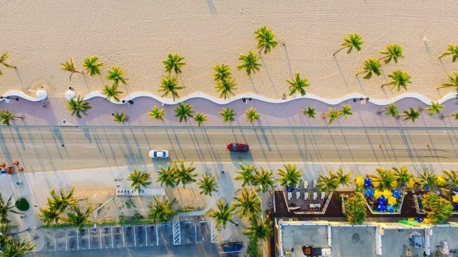 Vu de Miami Beach