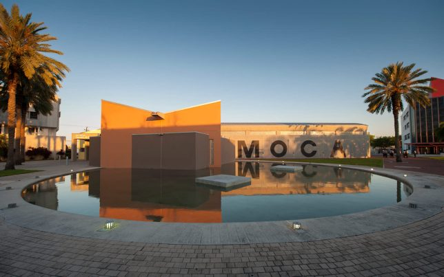 Entrée du MOCA de Miami