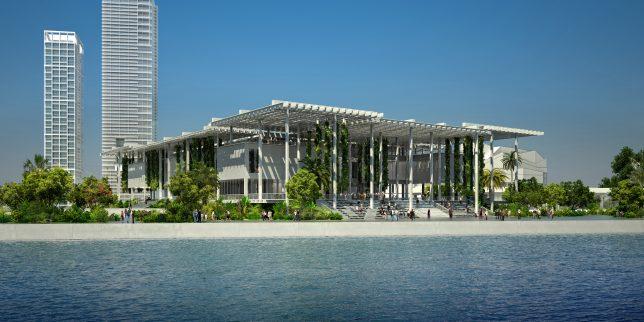 Vue du Pérez Art Museum de Miami