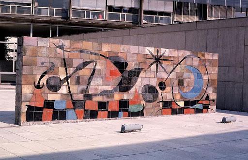 Joan Miró, Mur de la Lune, Unesco, 1957