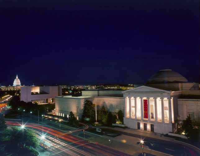 The National Gallery of Art, Washington D.C