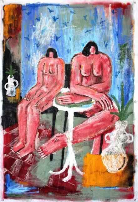 Œuvre de MadAlvar, intitulée Mujeres.