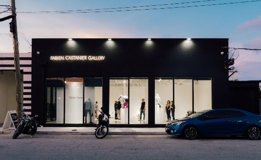 The Fabien Castanier Gallery in the Little Haiti area of Miami