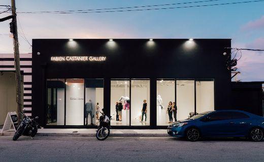 La galerie Fabien Castanier dans le quartier de Little Haiti à Miami