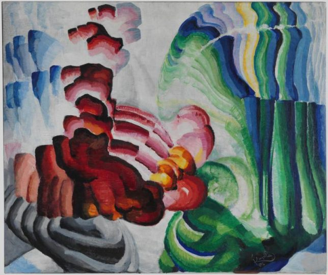 Frantisek Kupka – Compliment (1912)