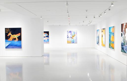 L'exposition « Young Twitchy » de Harmony Korine à la galerie Gagosian à New York, 2019