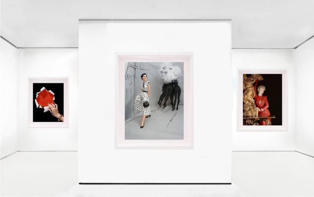 Image de l'exposition Fashion & Portraits de Horst P. Horst, 2018 en collaboration avec la galerie Leica, Istanbul