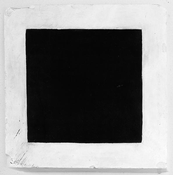 Kasimir Malevitch – Carré noir sur fond blanc (1915)