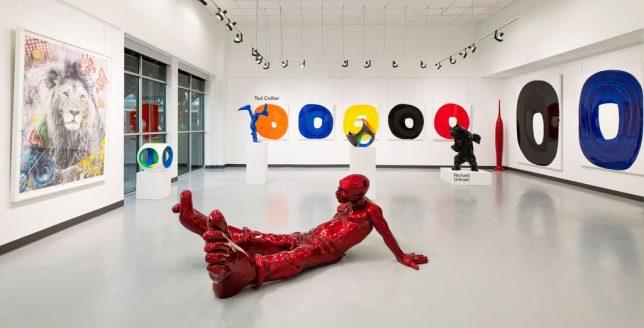 La galerie Markowicz à Dallas au Texas