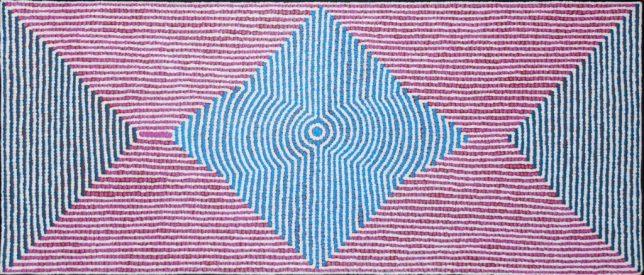 Ngurlu Jukurrpa (Native Seed Dreaming), Gloria Gill Napangardi, 2014