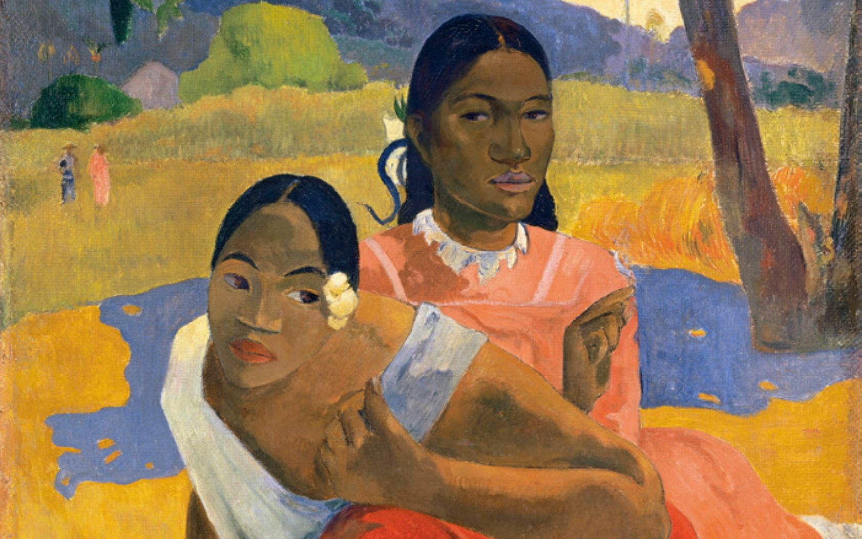 """Le tableau """"Nafea faa ipoipo ?"""" peint en 1892 par Paul Gauguin, cédé pour 265 millions de d'euros."""