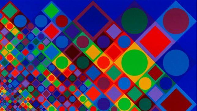 Victor Vasarely – Marsan 2 – 1964 – 1974