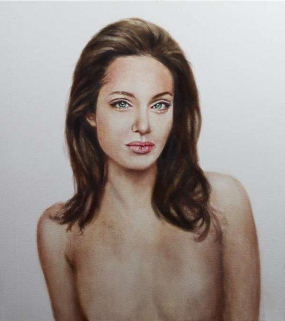 célébrités dans l'art, Johan Andersson, Angelina