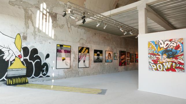 Exposition à la ART FIVE Gallery, Marseille.