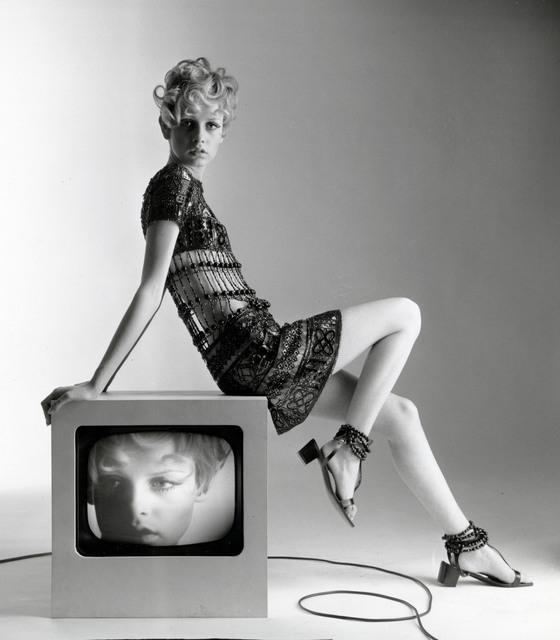 célébrités dans l'art, Bert Stern, Twiggy, Vogue