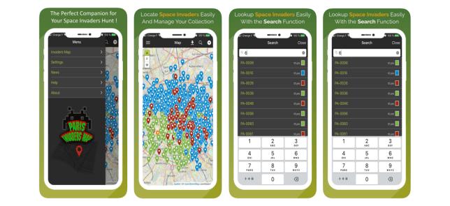 application mobile Invader