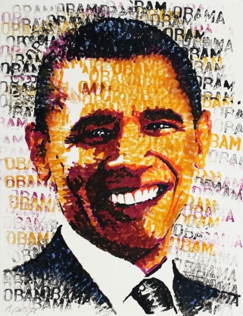 Chris Britz, Obama, 2008