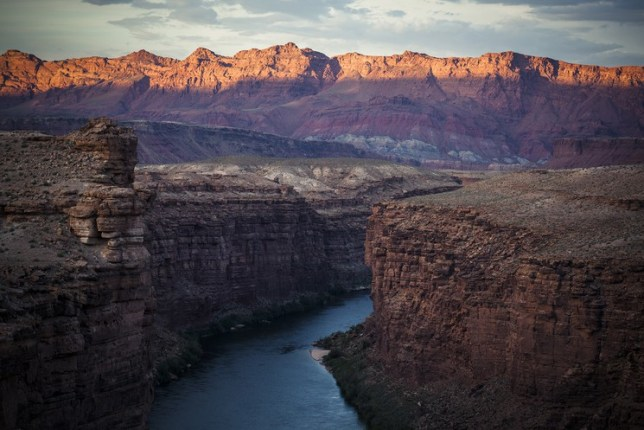 Franck Vogel, Colorado River Sunset, 2015