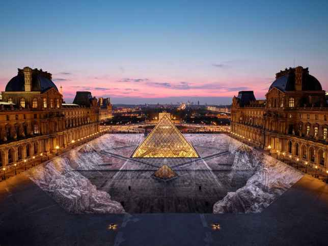 The Secret of The Great Pyramid - JR (Paris)