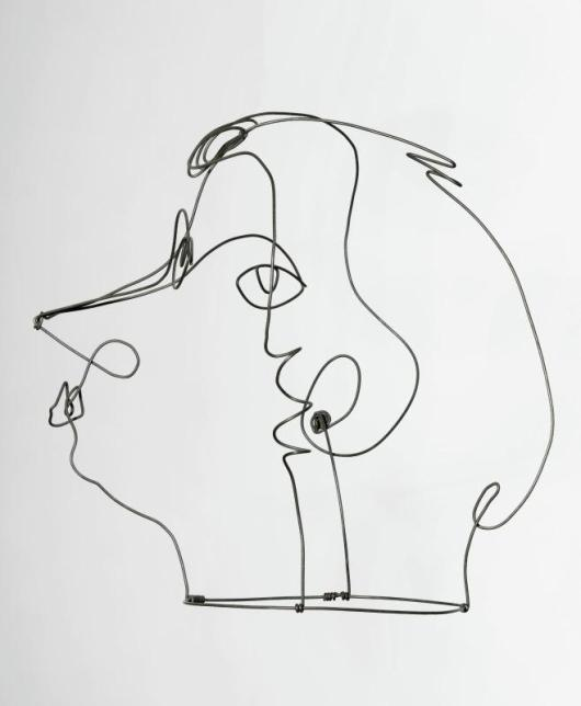Kiki de Montparnasse (II), 1930, exposé au Centre Pompidou