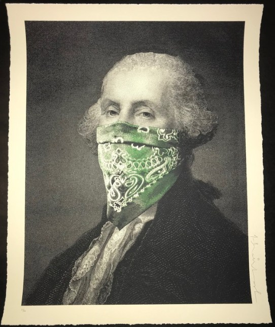 Mr. Brainwash, President's Day Bandana Edition, 2018