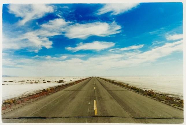 Richard Heeps, Approach to Bonneville Salt Flats, Bonneville, Utah, 2003