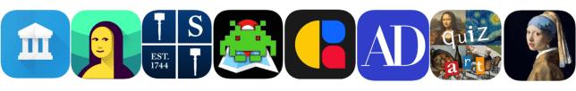 applications mobiles autour de l'art