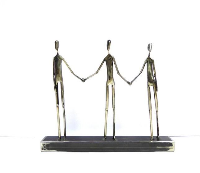« Together », 2020, une partie de sa série réalisée pendant le confinement