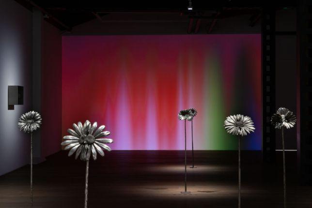 Vue de « Future Herbarium » par Laurent Grasso à la galerie Perrotin Shanghai