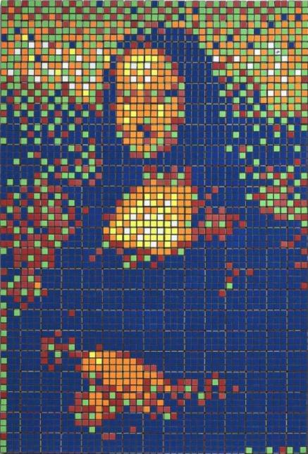 L'attribut alt de cette image est vide, son nom de fichier est invader-rubik-mona-lisa-2005-assemblage-rubik-s-cubes-photo-artcurial-437x644.jpg.