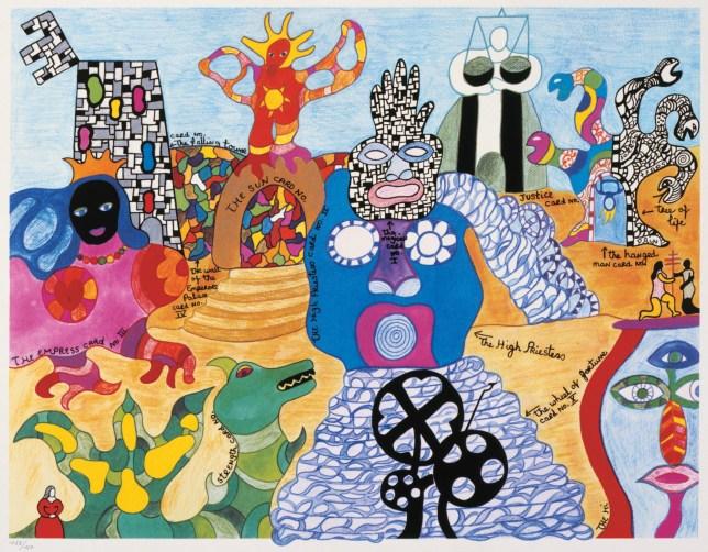 Niki de Saint Phalle, « Tarot Garden »