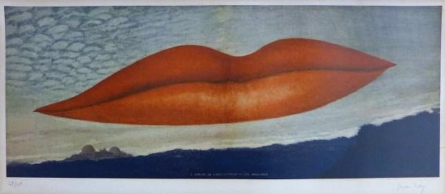 Man Ray, A l'Heure de l'Observatoire - Les Amoureux , 1970