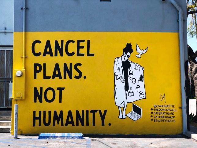 Street Art by Corie Mattie found in LA