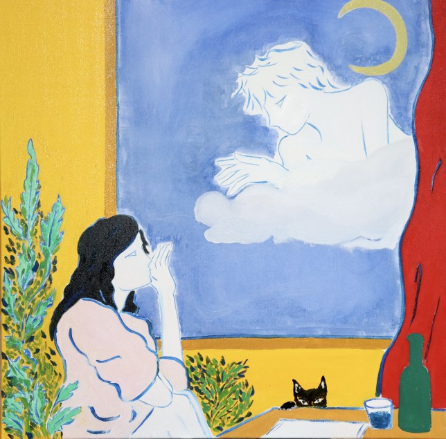 Peinture onirique Gabrielle Rul