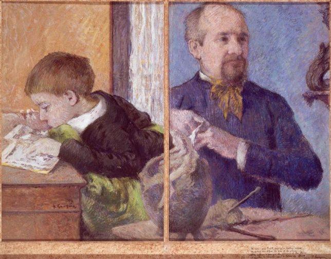 Gauguin diptych triptych