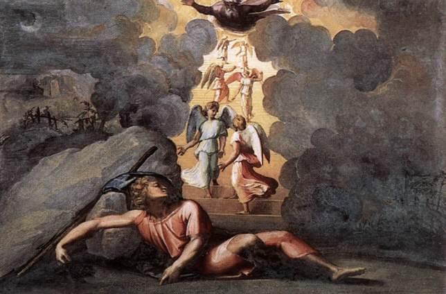 Raphael le Songe de Jacob Renaissance