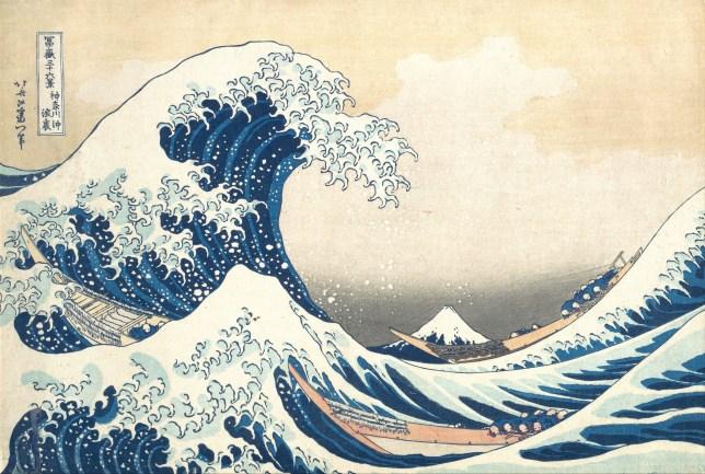 Katsushika Hokusa, La Grande Vague de Kanagawa, 1830