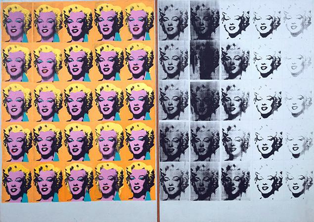 marylin diptych triptych