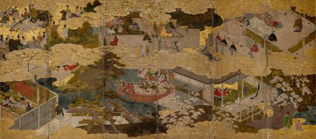 Scenes from the Tale of Genji (1615-1868)