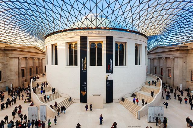 Le British Museum, à Londres