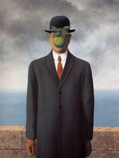le fils de l'homme, René Magritte