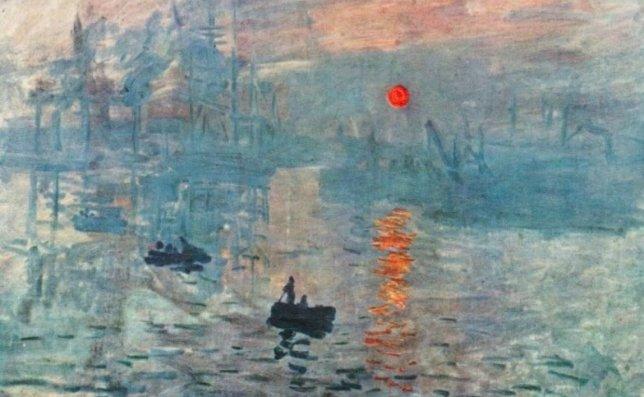 monet soleil levant peinture paysage