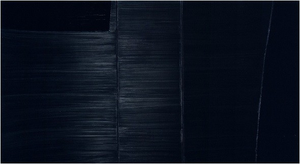 Pierre Soulages, 1984, Collection Les Abattoirs,© Toulouse ADGP, Photograph by Auriol Ginest